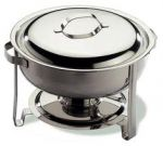 Chafing dish rond.